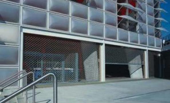 Grilaje rulou - lamele din otel de la Gamaterm Design
