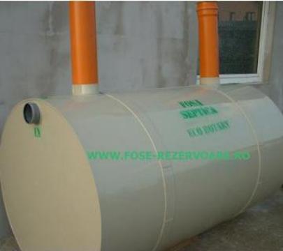 Fosa septica ecologica PP. 6000 litri de la Eco Rotary SRL