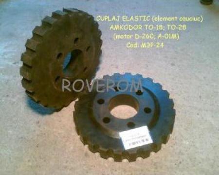 Cuplaj elastic (element cauciuc) motor D-260; A-01M de la Roverom Srl
