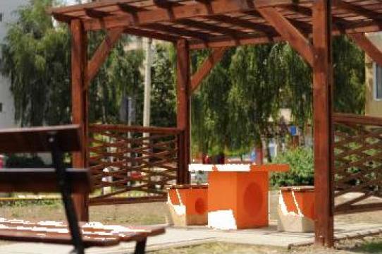 Pergole din lemn
