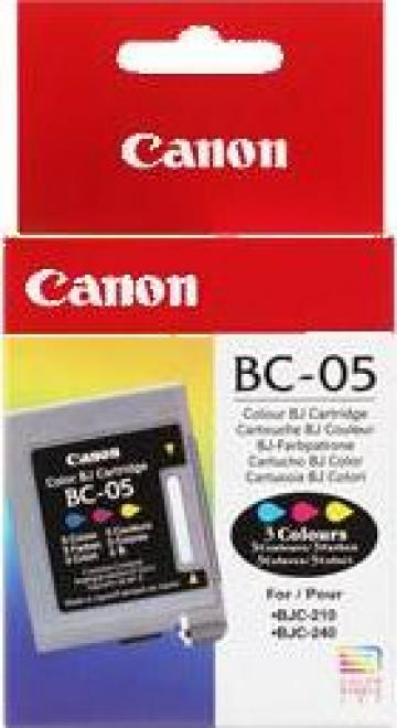 Cartus Imprimanta Cerneala Original Canon BC-05 de la Green Toner
