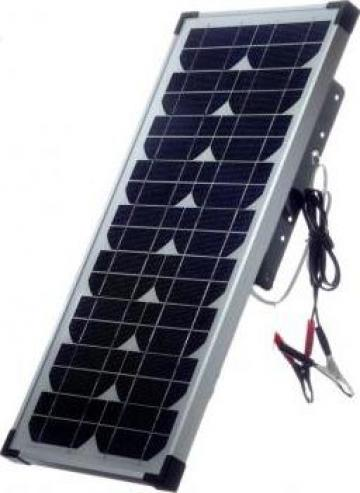 Panou solar pentru gard electric 20 w de la Sc Agri Tocan Srl
