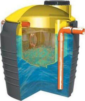 Separator de uleiuri si hidrocarburi