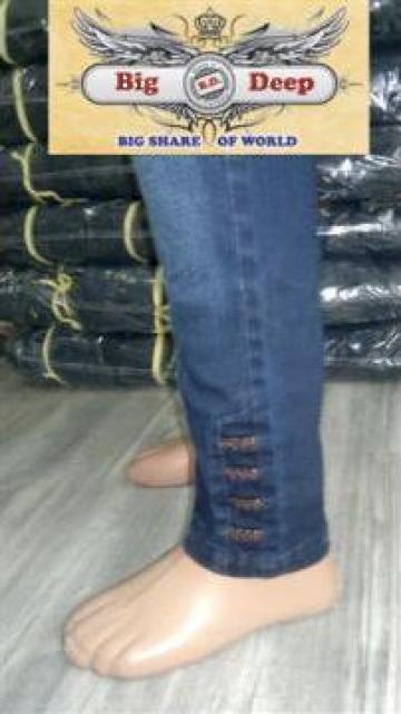 Jeans dama 50 Group Big Deep de la Big Deep Jeans