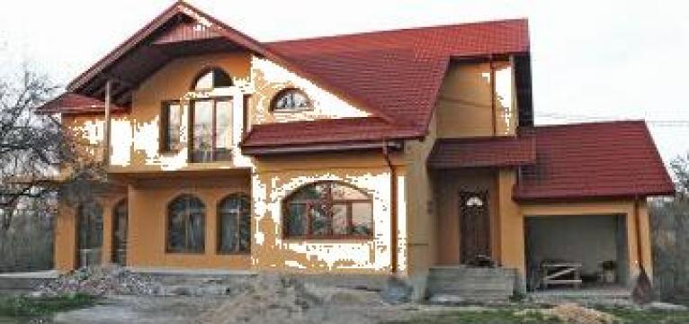 Ferestre din lemn stratificat cu geam termopan usa balcon for Modele de balcon din lemn