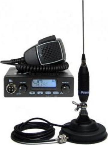 Statie radio + antena + suport baza magnetica de la Alex & Bea Auto Group Srl