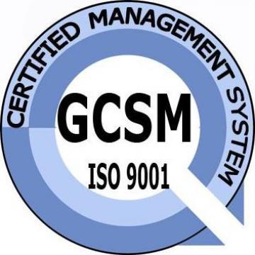 Certificare ISO 9001:2008 de la Grupul De Certificare Sisteme De Management