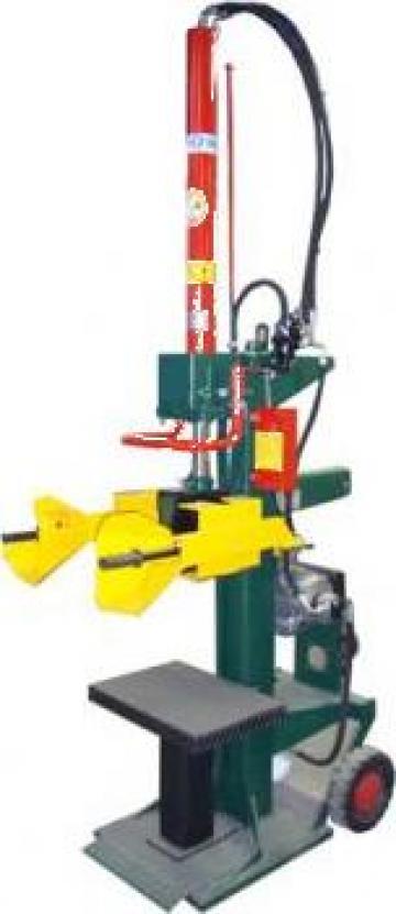 Masina universala de crapat lemne verticala Leonard 10 de la Cod 5A Prodcomserv Srl
