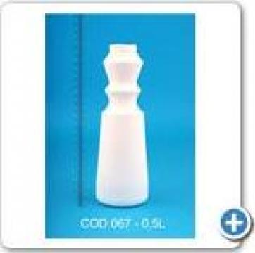 Recipient plastic la 0,5 l cu dop FI 38 de la Vanmar Impex Srl