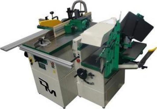 Masina combinata pentru lemn cu 5 operatii de la Infomark Srl.