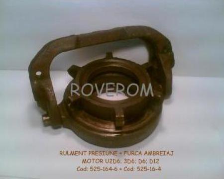 Rulment + furca ambreiaj motor D6; 3D6; D12; UD6