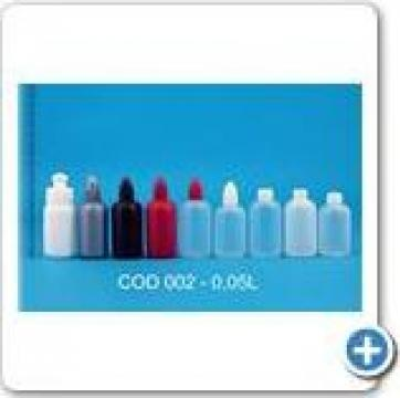 Flacoane din plastic de capacitate 0,05 l de la Vanmar Impex Srl