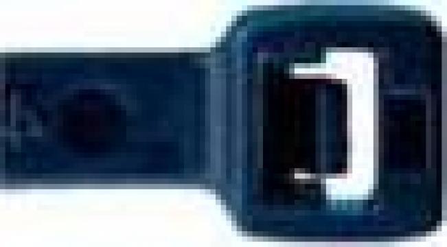 Coliere plastic negru 4,8 x 360