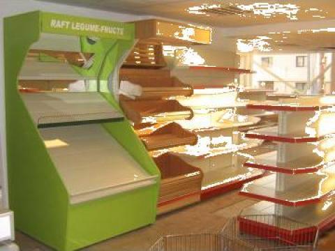 Rafturi magazin alimentar de la Marlex Impex Srl