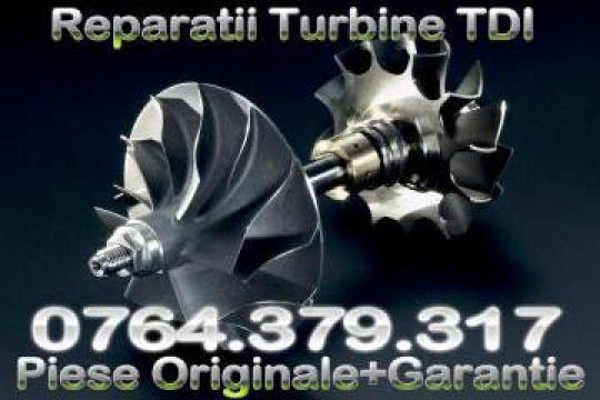 Reconditionare rapida turbine auto de la Reparatii Turbosuflante