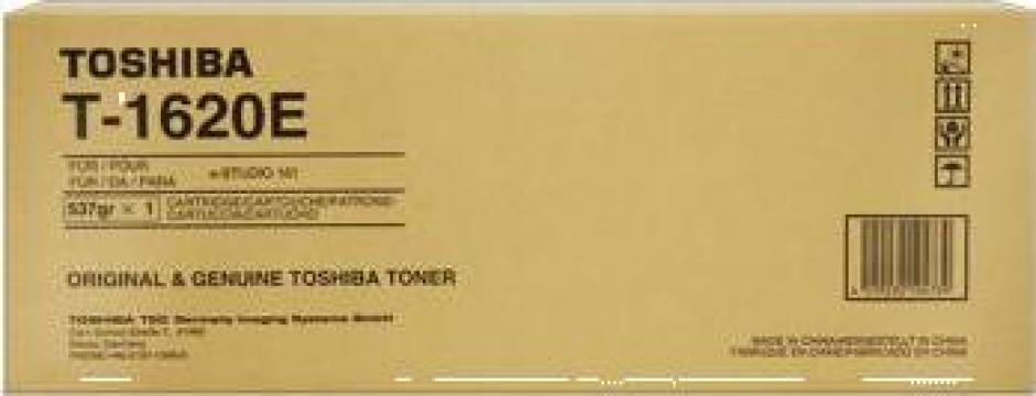 Cartus copiator original Toshiba T-1620E de la Green Toner