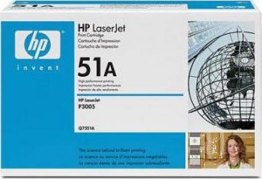 Cartus Imprimanta Laser Original HP Q7551A de la Green Toner