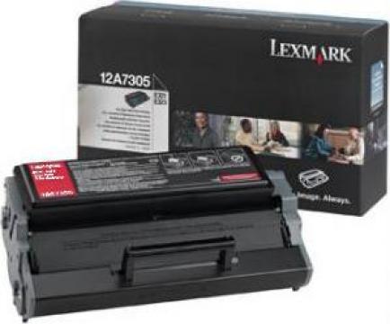 Cartus Imprimanta Laser Original LEXMARK 12A7305 de la Green Toner