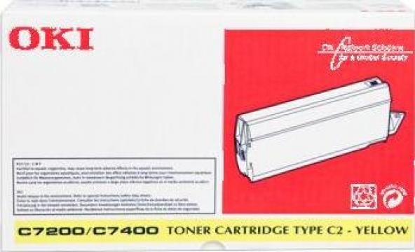 Cartus Imprimanta Laser Original OKI 41304209 de la Green Toner