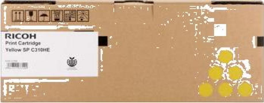 Cartus Imprimanta Laser Original RICOH 406482 de la Green Toner
