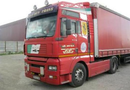 Camion MAN 18.510 (1) camion MAN 18.460 (2) de la Gab & Mon Trans Srl