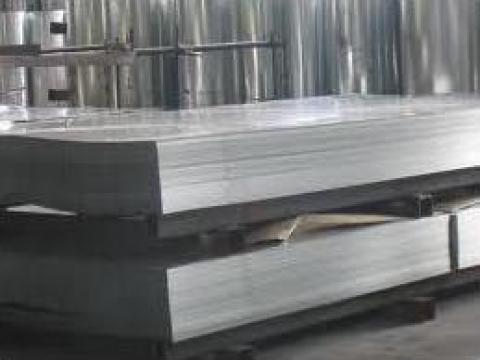 Tabla zincata lisa dreapta de la Dinamic Blue Steel
