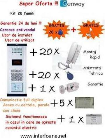 Interfon bloc Genway de la Homesmart Electric Srl