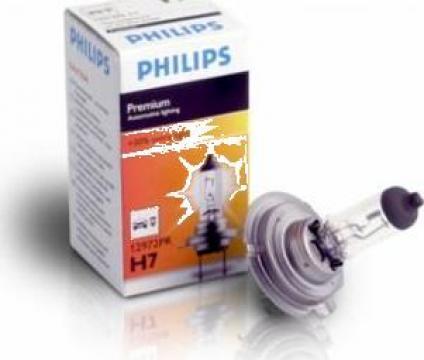 Bec halogen h7 12v 55w Philips de la Alex & Bea Auto Group Srl
