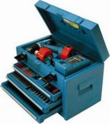 Masina de gaurit cu acumulator Makita 6281DWAETC de la Nick & Son Services Srl