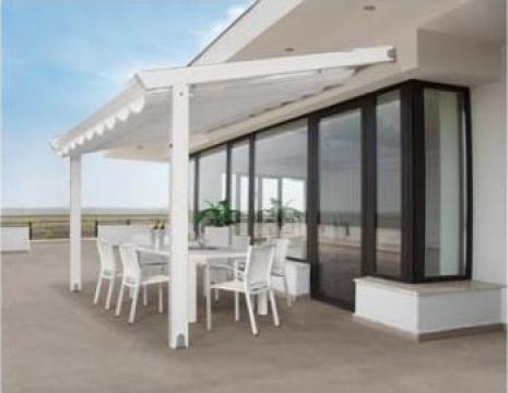 Pergole fixe pentru terase
