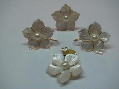 Set bijuterii sidef de la Casa De Bijuterii Noblesse
