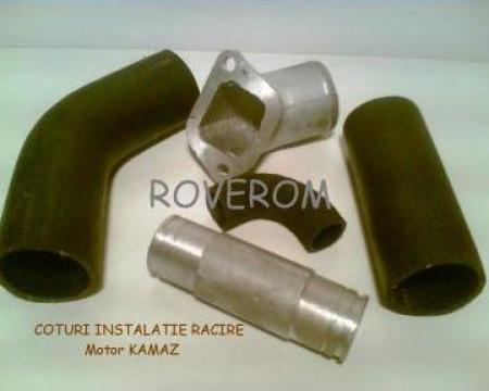 Coturi radiator apa Ural (motor Kamaz) de la Roverom Srl