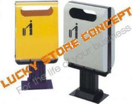 Cos de gunoi urban LSC-B1601 de la Lucky Store Solution SRL