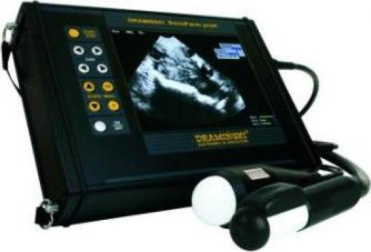 Ecograf cu sonda mecanica medicina veterinara SonoFarm de la Wintech Srl