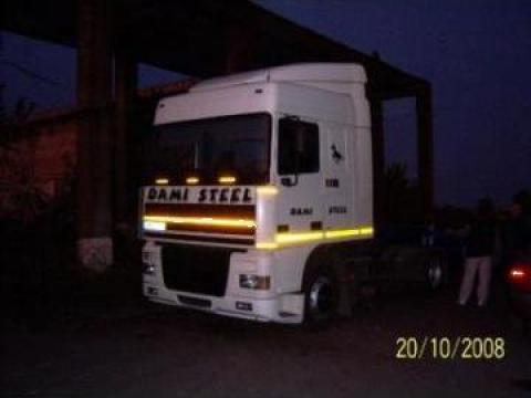 Cap tractor Daf Xf 95 430 cp + semiremorca Van Hool