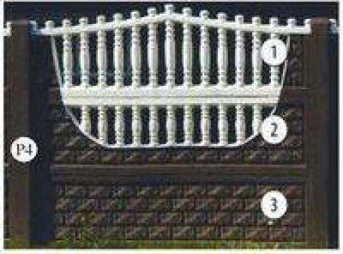 Garduri prefabricate beton armat Nr. 30 de la Amonra Sun Srl
