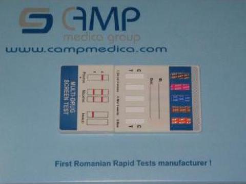 Teste rapide pentru detectie droguri in urina