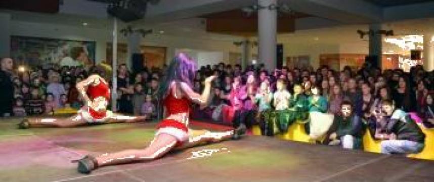 Inchiriere scena Global Stage in Galeria Mall Suceava