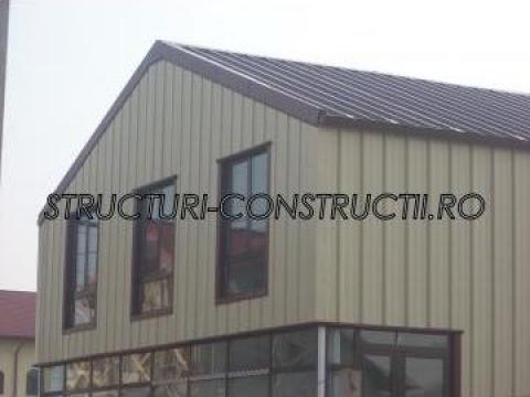 Executie constructii metal multietaj, hoteluri, cladiri de b