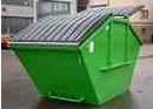 Containere deseuri Skip 7 mc de la Elkoplast Romania Srl.