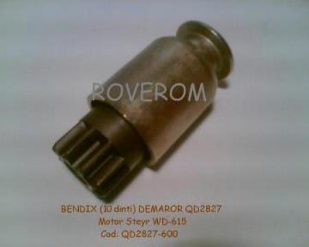 Bendix (Z=10) demaror QD2827DF (motor Weichai WD615) de la Roverom Srl