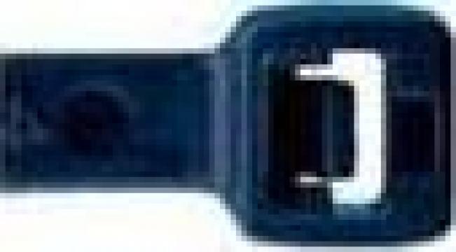 Coliere plastic negru pentru cabluri, prindere cablaje de la Teom Tech Srl