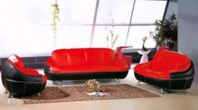 Canapea de piele moderna, mobilier de agrement, sofa de la Foshan Yalin Furniture Co., Ltd