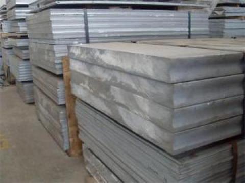 Tabla - placa aluminiu10x1000x2000 mm, EN AW 7075, AlZn5.5Mg