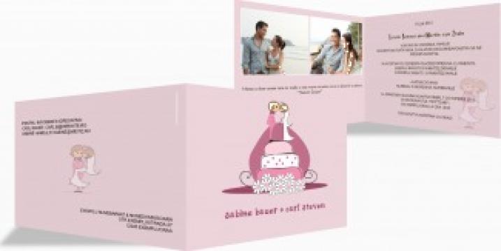 Invitatie nunta Love song de la Familymoments.ro