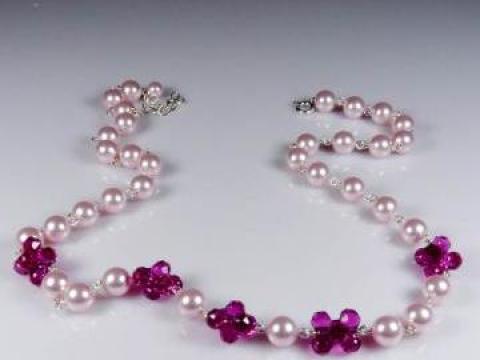 Colier Perlare - perle & cristale de la Ravisant