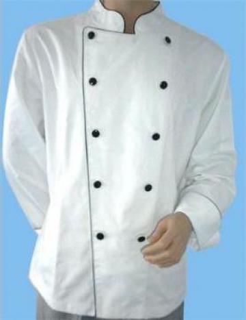 Costum bucatar alb de la Johnny Srl.