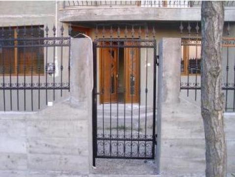 Porti si garduri fier forjat de la M & B Inox