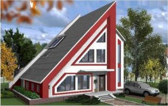 Casa din lemn ploiesti alsin id 3304995 for Case de lemn pret 10000 euro