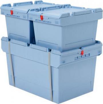 Cutii si containere din plastic pentru depozitare de la Elmas